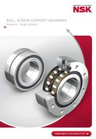 BSBD Series - Ball screw Support Bearings